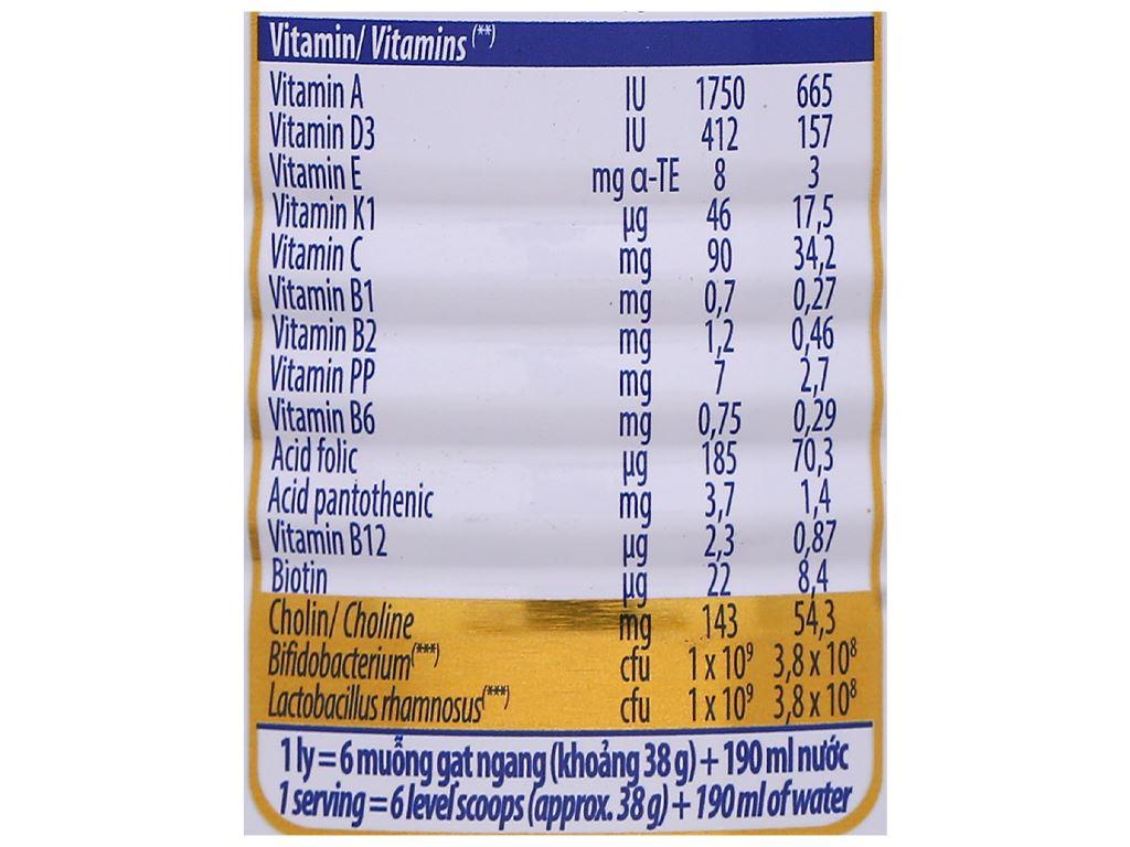 Sữa bột Optimum Gold 3 lon 400g (1 - 2 tuổi) 7