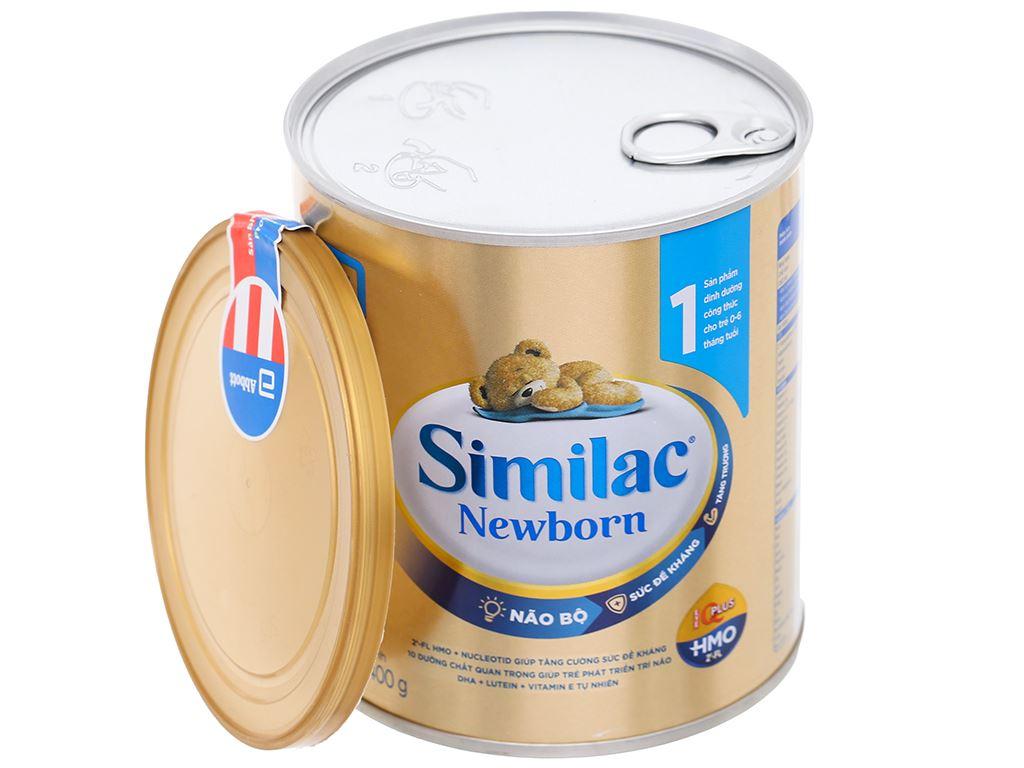 Sữa bột Abbott Similac Newborn Eye-Q Plus HMO lon 400g (0 - 6 tháng) 6