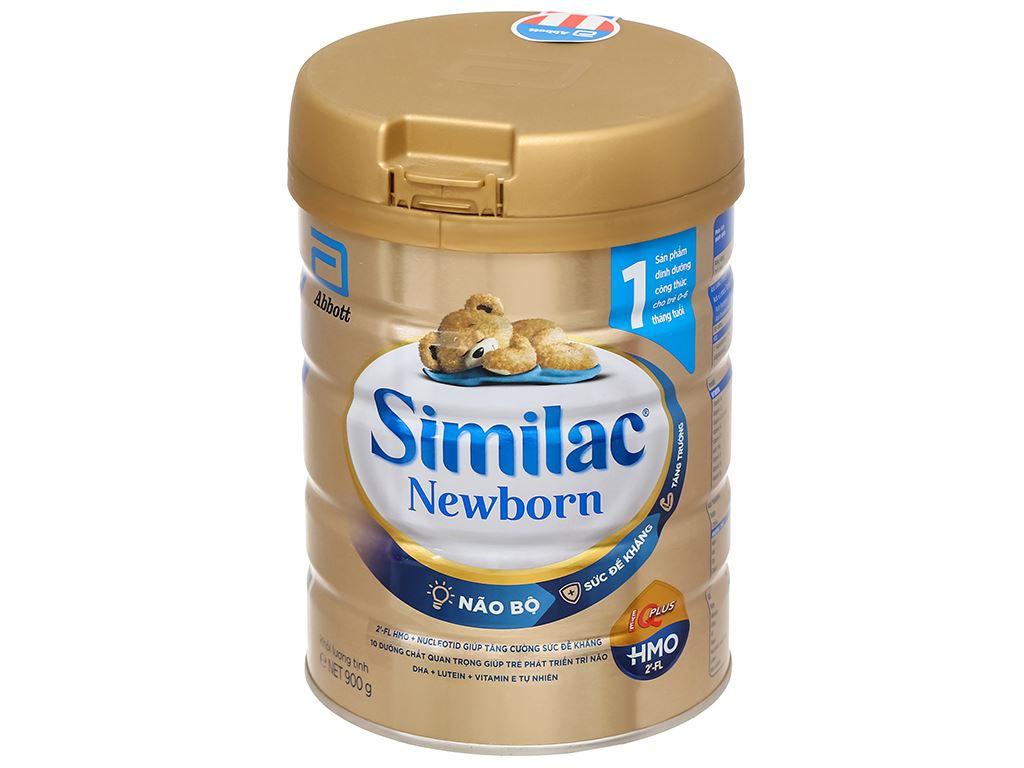Sữa bột Abbott Similac Newborn Eye-Q Plus HMO lon 900g (0 - 6 tháng) 1