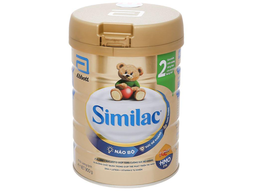Sữa bột Abbott Similac Eye-Q 2 Plus HMO hương vani lon 900g (6 - 12 tháng) 1