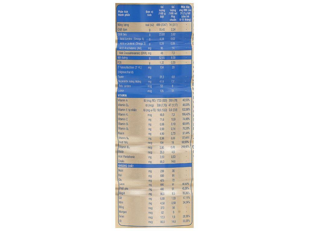 Sữa bột Abbott Similac Eye-Q 2 Plus HMO hương vani lon 900g (6 - 12 tháng) 4