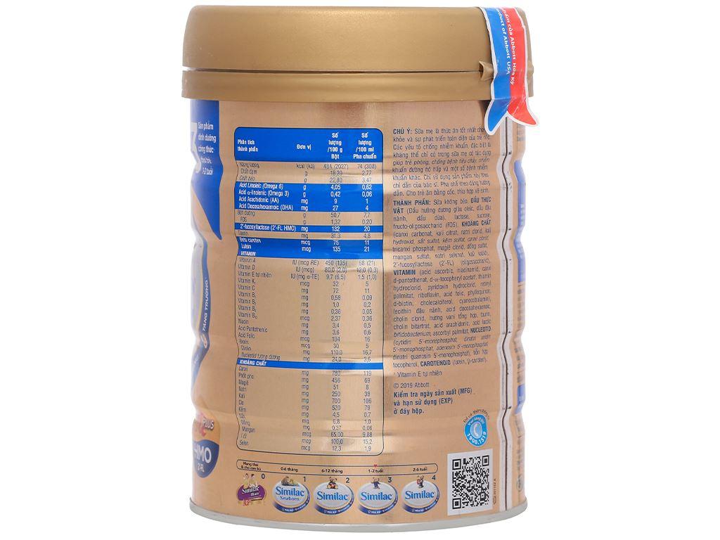 Sữa bột Abbott Similac IQ 3 Plus (HMO) hương vani lon 900g (1 - 2 tuổi) 1