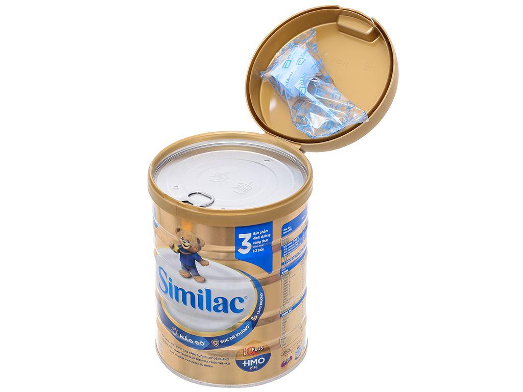 Sữa bột Abbott Similac IQ 3 Plus (HMO) hương vani lon 900g (1 - 2 tuổi) 5
