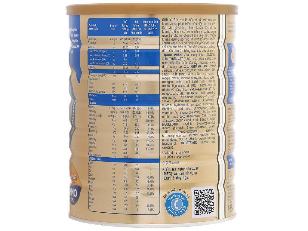 Sữa bột Abbott Similac IQ 3 Plus (HMO) hương vani lon 1.7kg (1 - 2 tuổi) 2