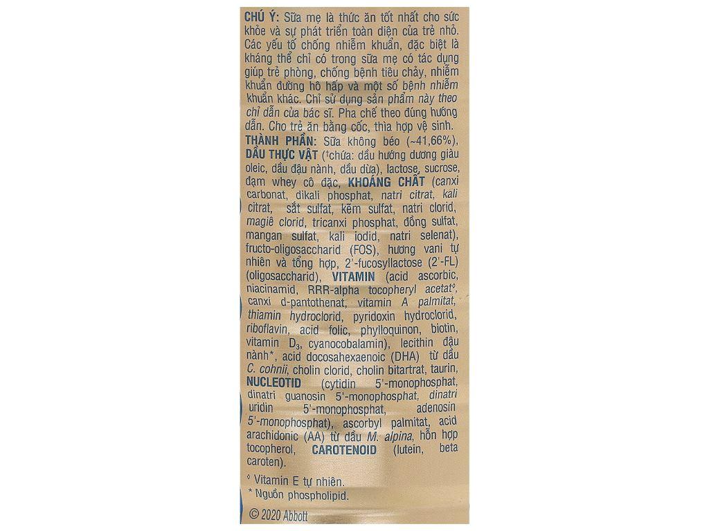 Sữa bột Abbott Similac IQ 3 Plus (HMO) hương vani lon 1.7kg (1 - 2 tuổi) 4