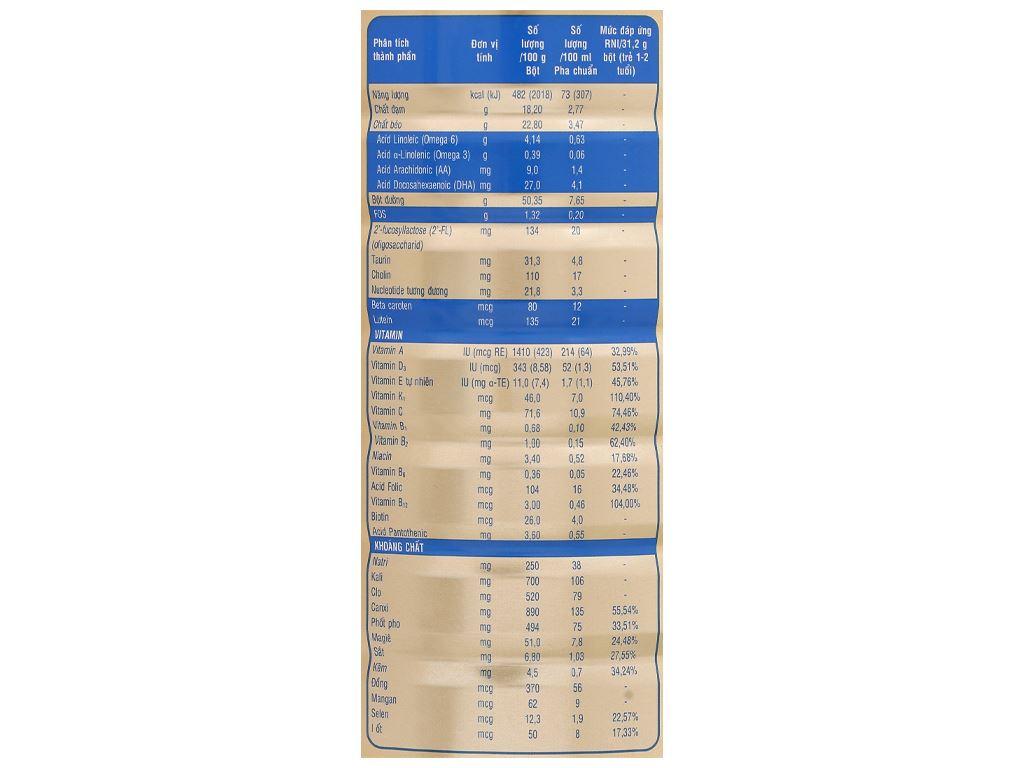 Sữa bột Abbott Similac IQ 3 Plus (HMO) hương vani lon 1.7kg (1 - 2 tuổi) 5