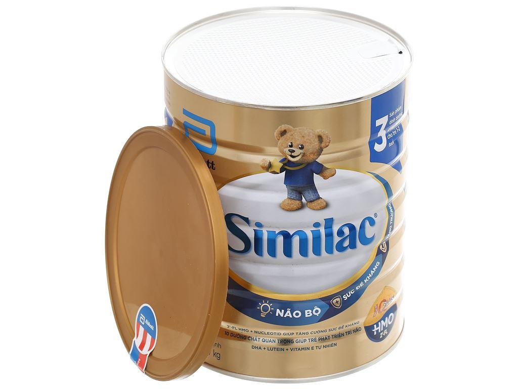 Sữa bột Abbott Similac IQ 3 Plus (HMO) hương vani lon 1.7kg (1 - 2 tuổi) 7