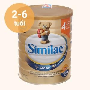 Sữa bột Abbott Similac Eye-Q 4 Plus (HMO) hương vani lon 1.7kg (2 - 6 tuổi)