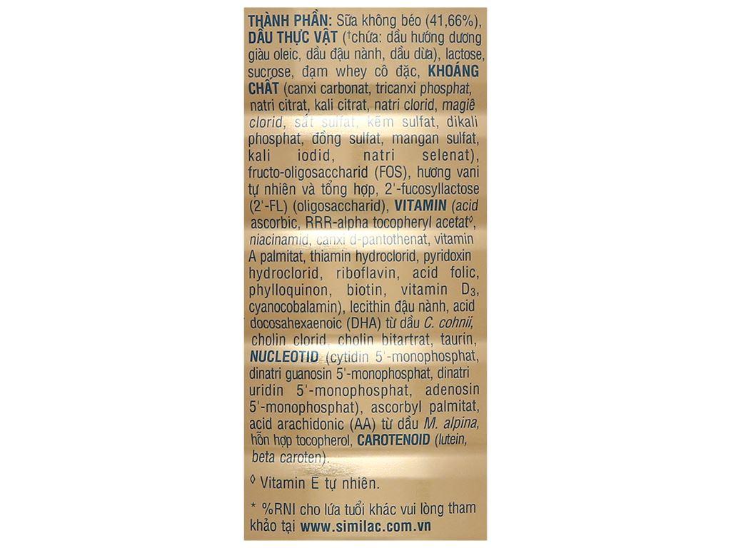 Sữa bột Abbott Similac Eye-Q 4 Plus (HMO) hương vani lon 1.7kg (2 - 6 tuổi) 4