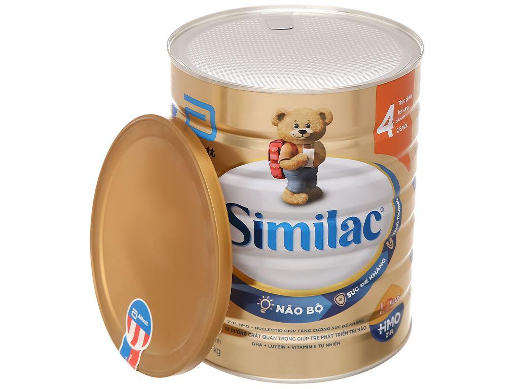 Sữa bột Abbott Similac Eye-Q 4 Plus (HMO) hương vani lon 1.7kg (2 - 6 tuổi) 6