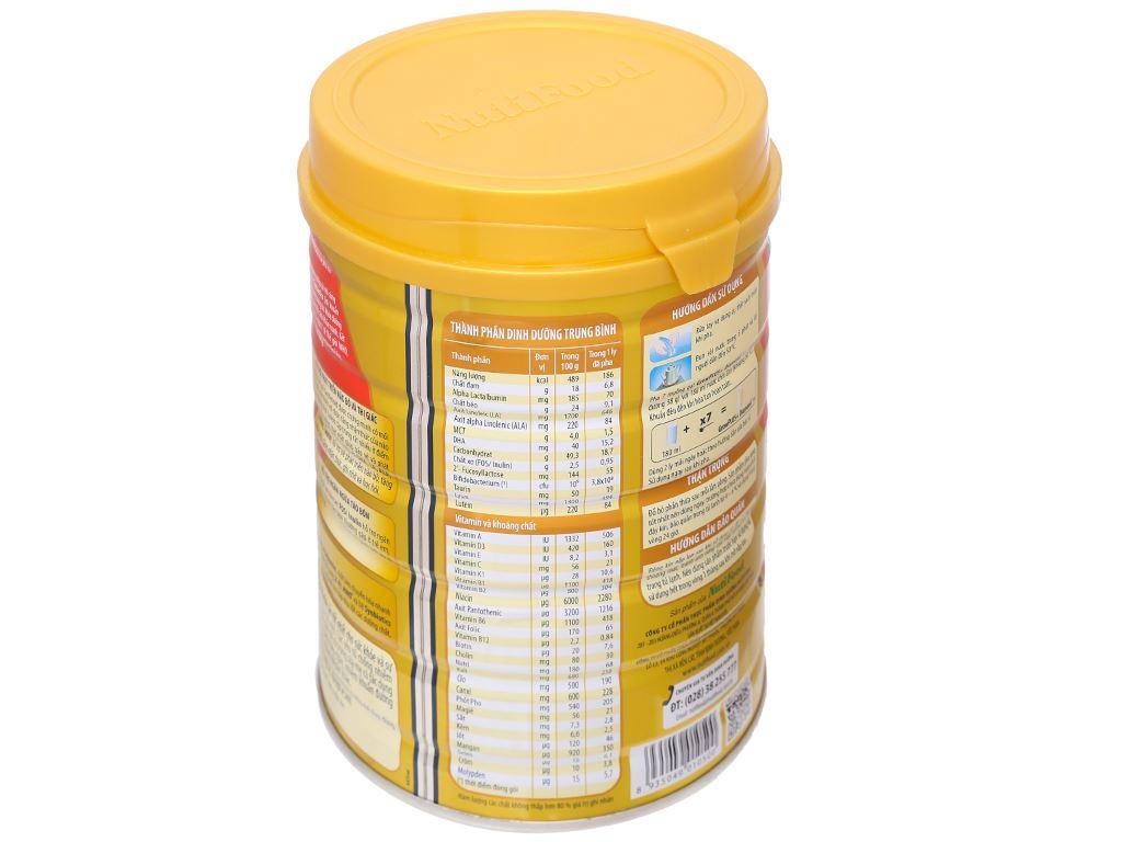 Sữa bột NutiFood NutiFood Grow Plus+ Diamond 1+ lon 850g (1 - 2 tuổi) 2