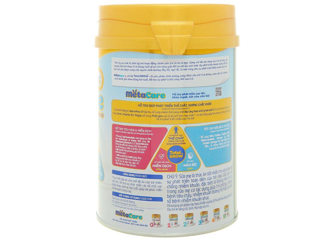 Sữa bột Nutricare Metacare 1 lon 400g (0 - 6 tháng) 2