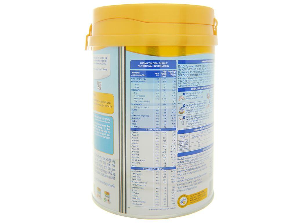 Sữa bột Nutricare Metacare 1 lon 400g (0 - 6 tháng) 4