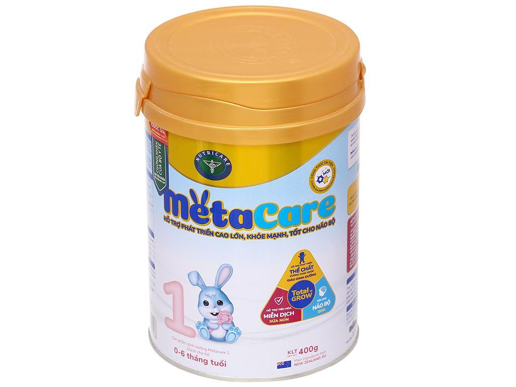 Sữa bột Nutricare Metacare 1 lon 400g (0 - 6 tháng) 1