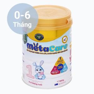 Sữa bột Nutricare Metacare 1 lon 900g (0 - 6 tháng)