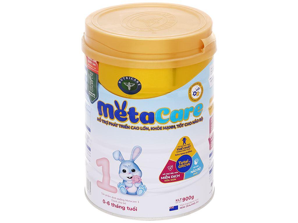 Sữa bột Nutricare Metacare 1 lon 900g (0 - 6 tháng) 1