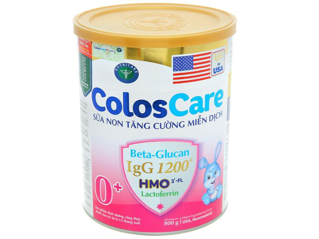 Sữa bột Nutricare ColosCare 0+ lon 800g (0 - 12 tháng) 1
