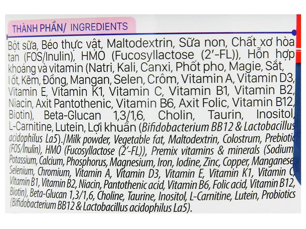 Sữa bột Nutricare ColosCare 0+ lon 800g (0 - 12 tháng) 5