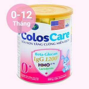 Sữa bột Nutricare ColosCare 0+ lon 800g (0 - 12 tháng)