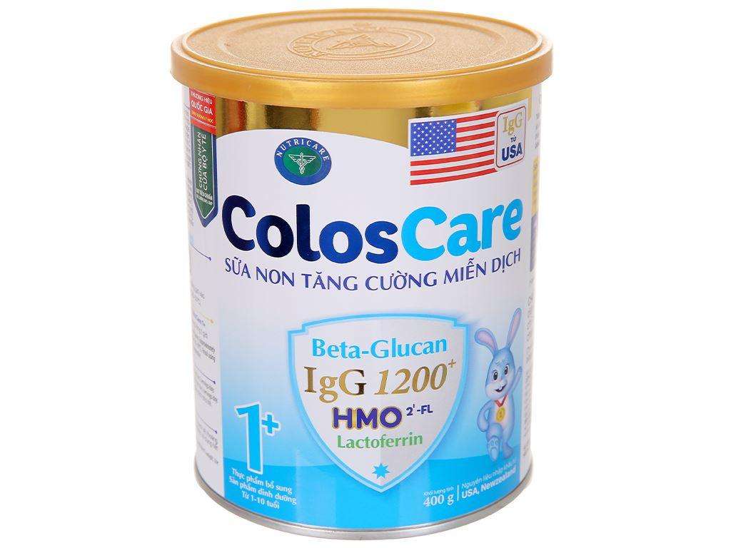 Sữa bột Nutricare ColosCare 1+ lon 400g (1 - 10 tuổi) 1