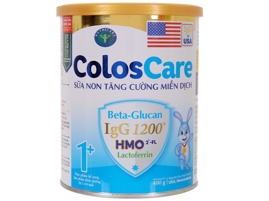 Sữa bột Nutricare ColosCare 1+ lon 400g (1 - 10 tuổi) 2
