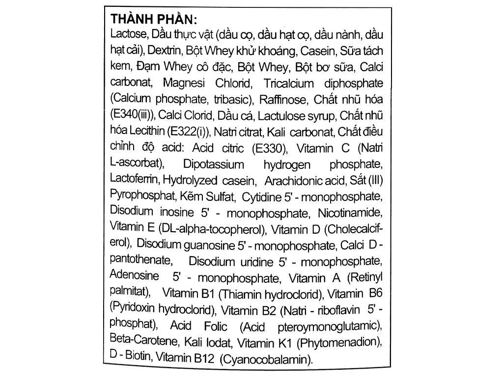 Sữa bột Morinaga Số 2 Chilmil lon 850g (6 - 36 tháng tuổi) 5