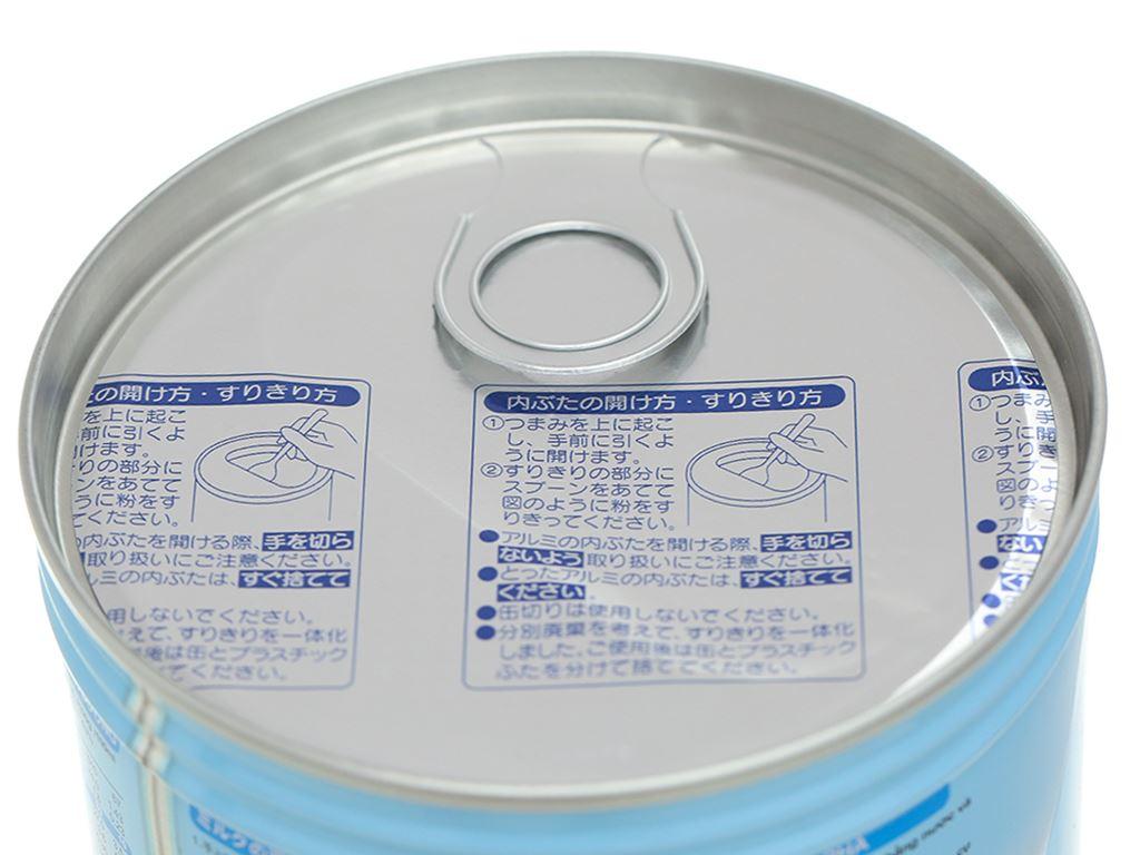 Sữa bột Morinaga Số 1 Hagukumi lon 320g (0 - 6 tháng) 7