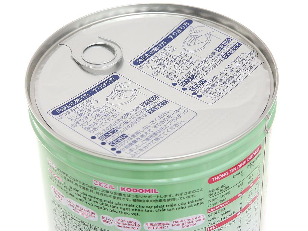 Sữa bột Morinaga Số 3 Kodomil hương dâu lon 850g (trên 3 tuổi) 8