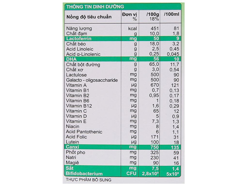 Sữa bột Morinaga Số 3 Kodomil hương vani hộp 216g (trên 3 tuổi) 8