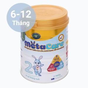 Sữa bột Nutricare MetaCare 2 lon 900g (6 - 12 tháng)