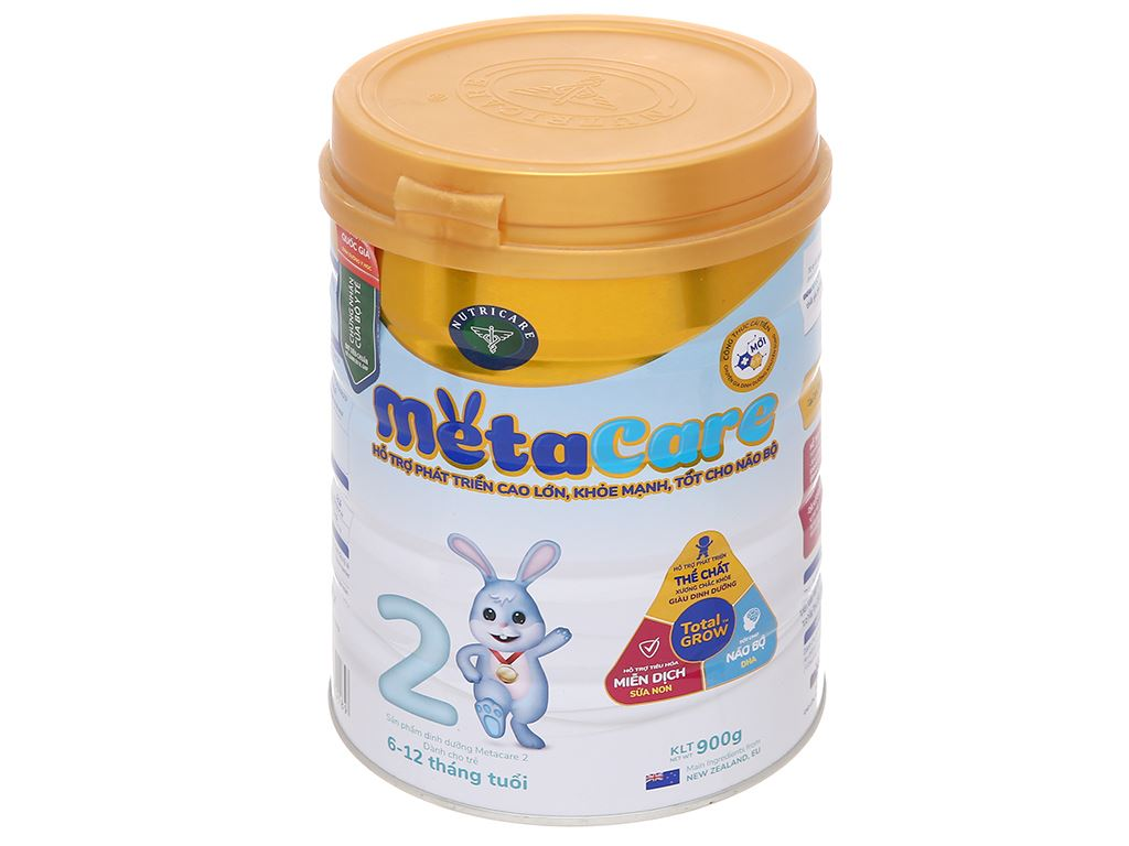 Sữa bột Nutricare MetaCare 2 lon 900g (6 - 12 tháng) 1