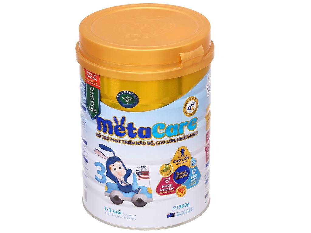 Sữa bột Nutricare MetaCare 3 lon 900g (1 - 3 tuổi) 1