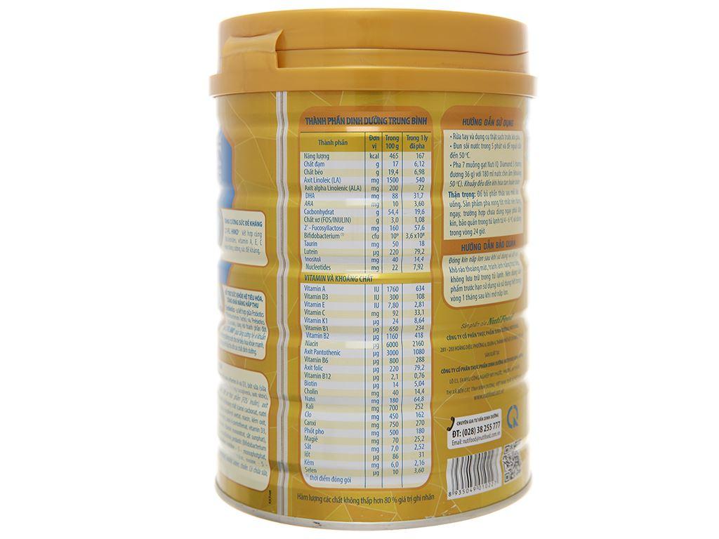 Sản phẩm dinh dưỡng công thức NutiFood Nuti IQ Diamond 3 lon 900g (1 - 2 tuổi) 3