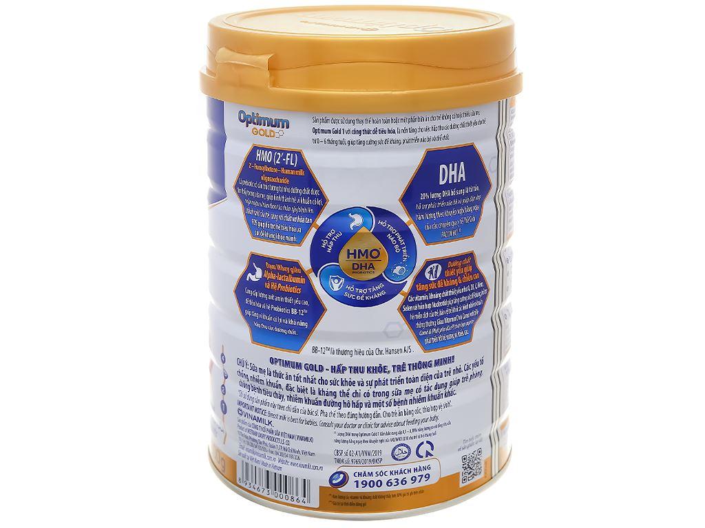 Sữa bột Optimum Gold 1 lon 800g (0 - 6 tháng) 2