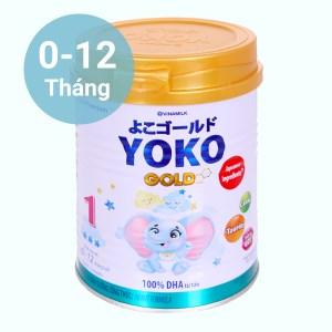 Sữa bột Vinamilk Yoko Gold 1 lon 350g (0 - 12 tháng)