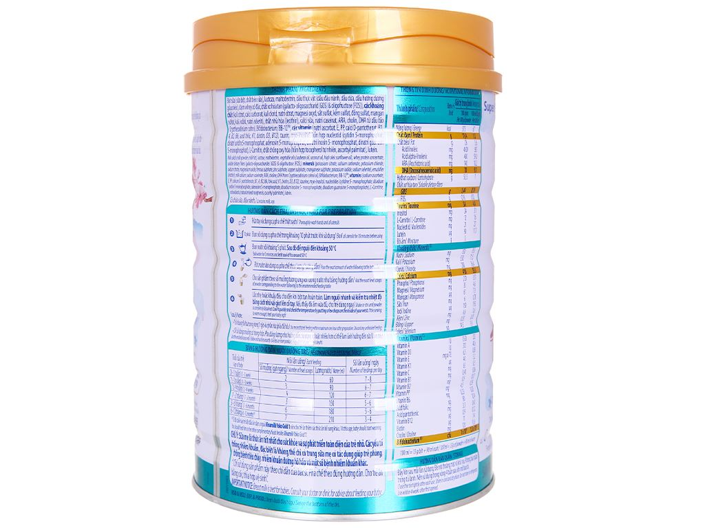 Sữa bột Vinamilk Yoko Gold 1 lon 850g (0 - 12 tháng) 2