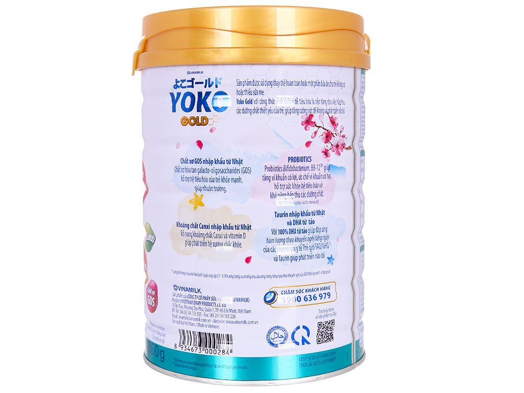 Sữa bột Vinamilk Yoko Gold 1 lon 850g (0 - 12 tháng) 3