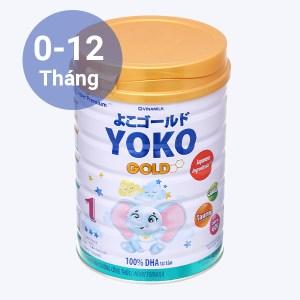 Sữa bột Vinamilk Yoko Gold 1 lon 850g (0 - 12 tháng)