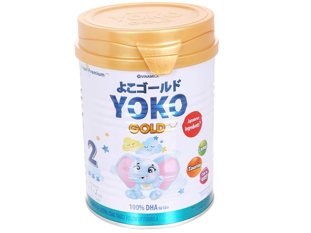 Sữa bột Vinamilk Yoko Gold 2 lon 350g (1 - 2 tuổi) 1