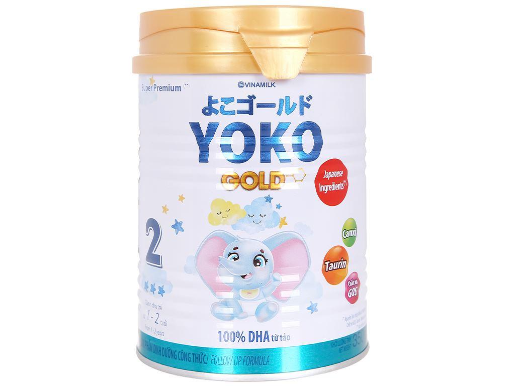Sữa bột Vinamilk Yoko Gold 2 lon 350g (1 - 2 tuổi) 2