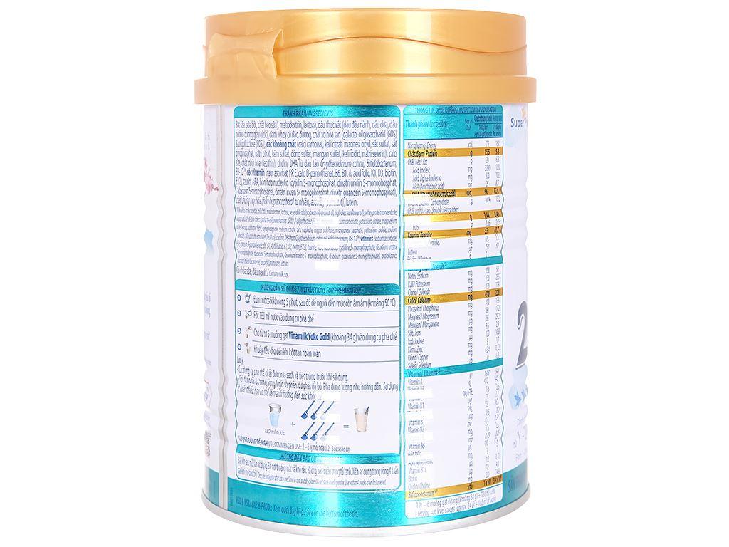 Sữa bột Vinamilk Yoko Gold 2 lon 350g (1 - 2 tuổi) 4