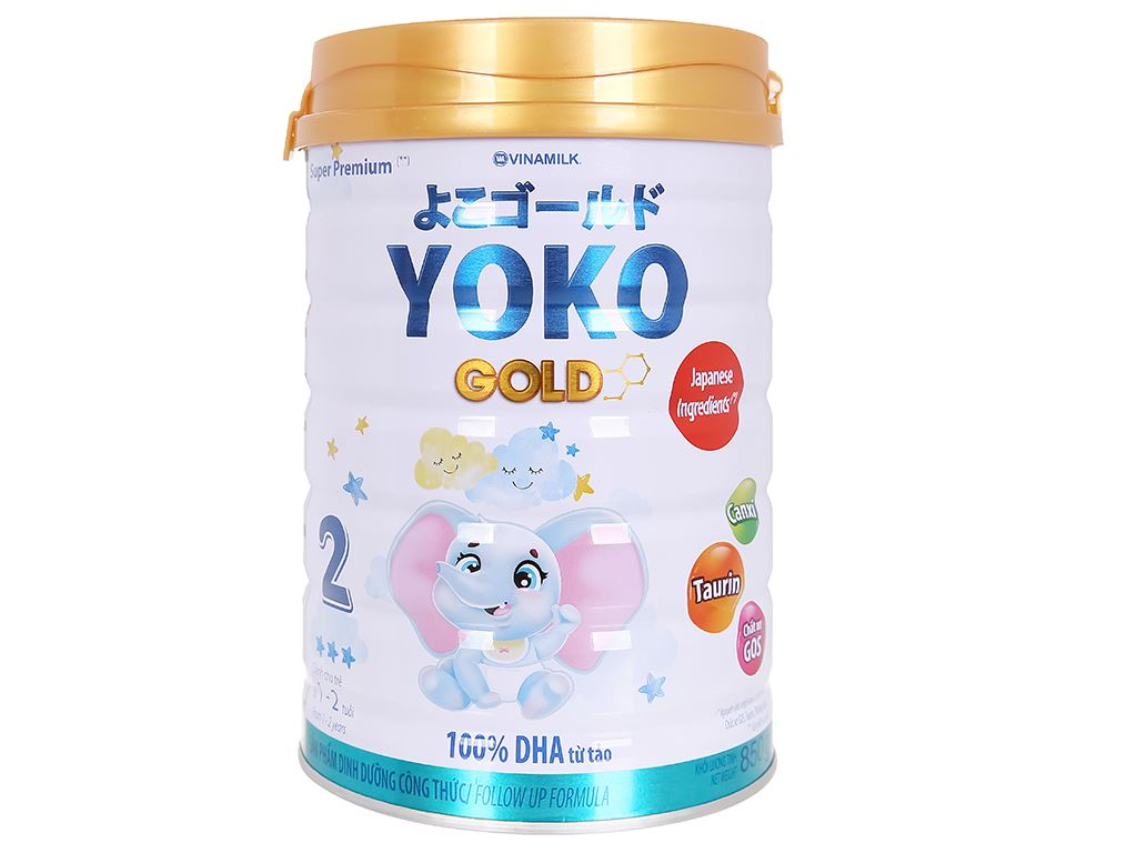 Sữa bột Vinamilk Yoko Gold 2 lon 850g (1 - 2 tuổi) 2