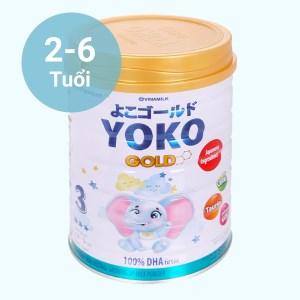 Sữa bột Vinamilk Yoko Gold 3 lon 850g (2 - 6 tuổi)