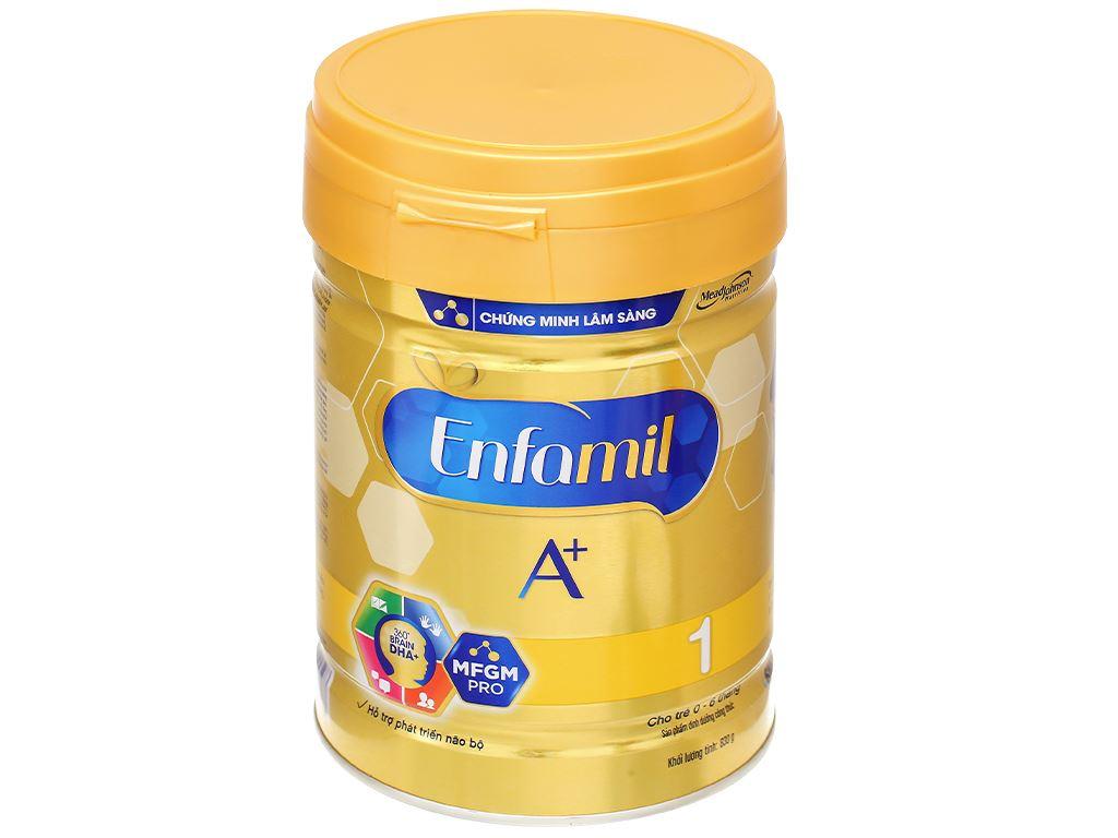 Sữa bột Enfamil A+ 1 lon 830g (0 - 6 tháng) 1
