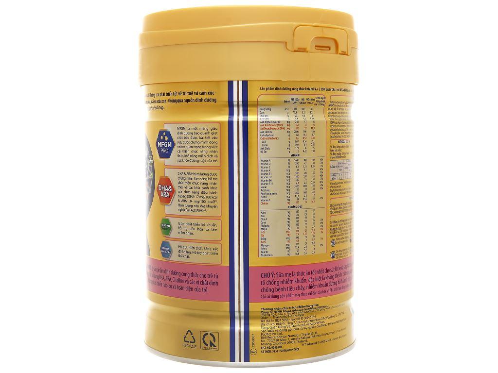 Sữa bột Enfamil A+ 2 lon 830g (6 - 12 tháng) 3