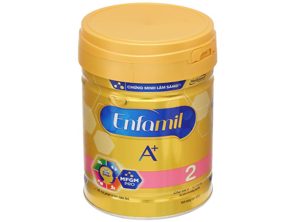 Sữa bột Enfamil A+ 2 lon 830g (6 - 12 tháng) 1