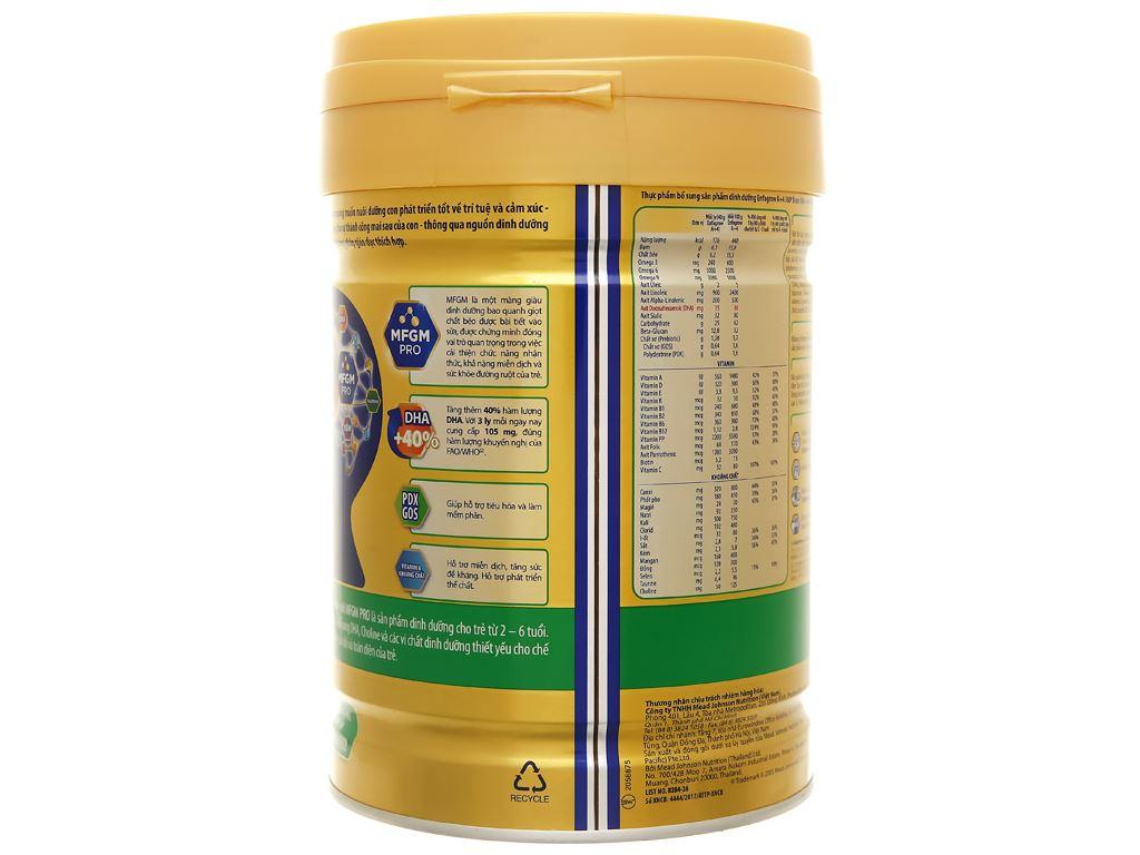 Sữa bột Enfagrow A+ 4 hương vani lon 830g (2 - 6 tuổi) 3