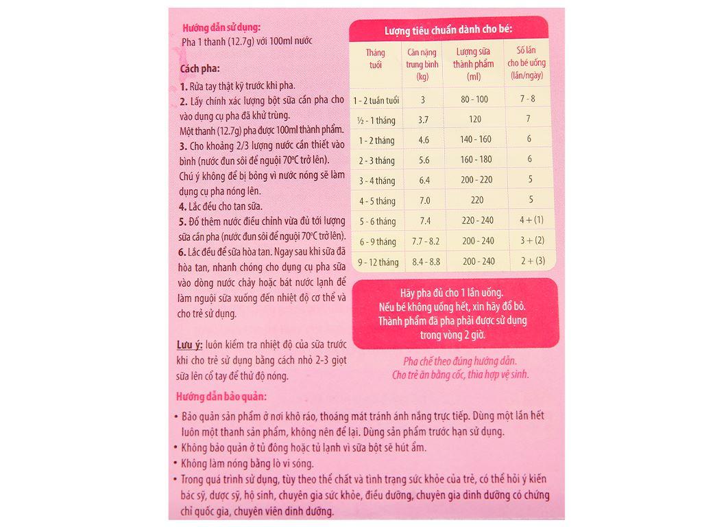 Sữa bột Glico Icreo số 0 hộp 127g (0 - 12 tháng) 5