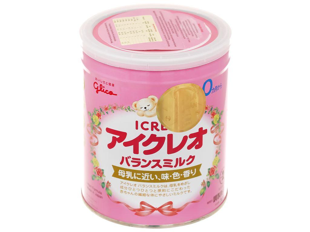 Sữa bột Glico Icreo số 0 lon 320g (0 - 12 tháng) 1