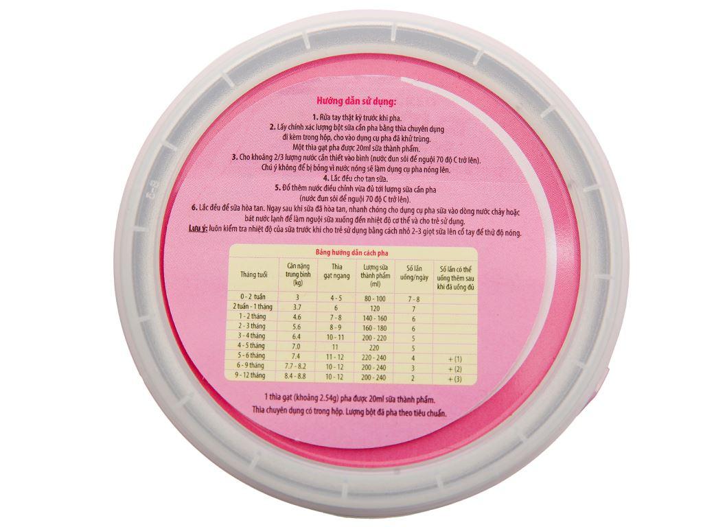 Sữa bột Glico Icreo số 0 lon 320g (0 - 12 tháng) 4